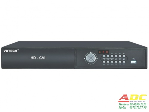 Đầu ghi hình 16 kênh H.264 VDTECH VDT-4500CVI